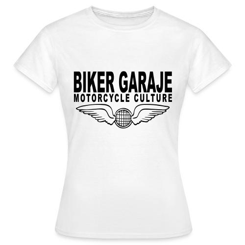 Motorcycle Culture Biker Garaje - Camiseta mujer
