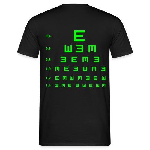 t-shirt aveugle - T-shirt Homme