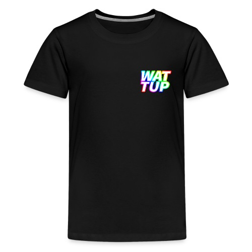 WATTUP Regenboog T-shirt (man) - Teenager Premium T-shirt