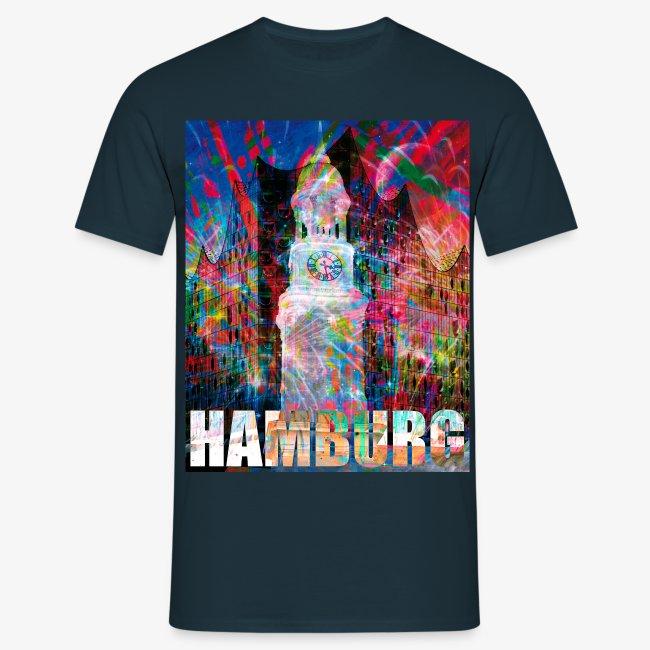 Elphi & Michel Hamburg Elbphilharmonie Männer T-Shirt