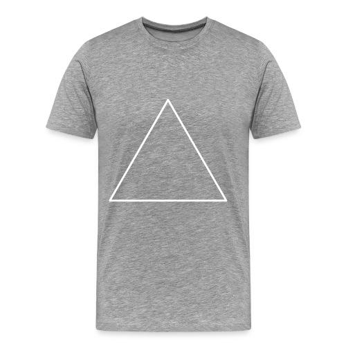 T-shirt triangle - T-shirt Premium Homme