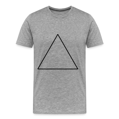 T-shirt triangle noir - T-shirt Premium Homme