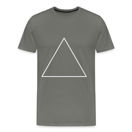 T-shirt triangle blanc - T-shirt Premium Homme
