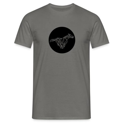 Polygon Pferd - Männer T-Shirt