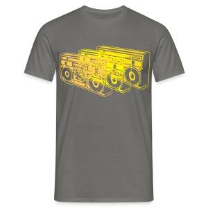 Boombox - Männer T-Shirt