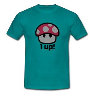 1 up - Männer T-Shirt