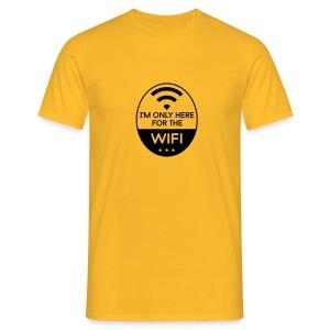 Only for WIFI - Männer T-Shirt