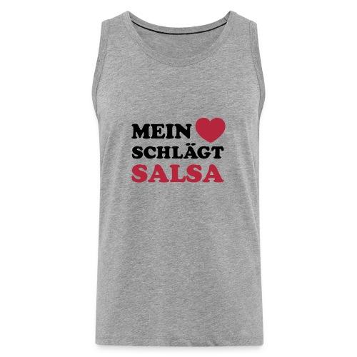 MEN SALSA TT CASUAL COLLECTION  - Männer Premium Tank Top