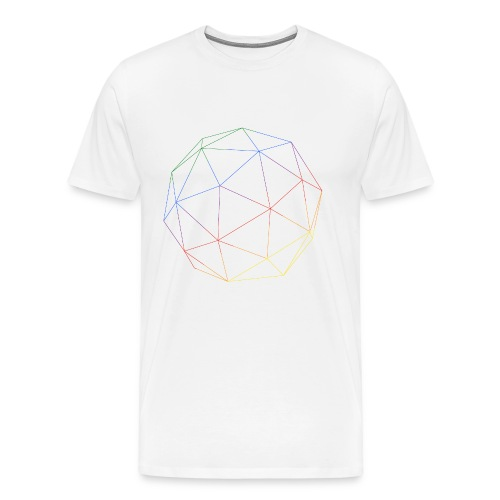 RAINBOW CUBE - Männer Premium T-Shirt