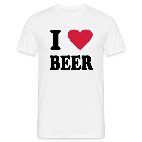 Love Beer - T-shirt herr