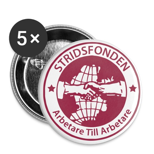 Stridsfonden - Badge - 56 mm - Stora knappar 56 mm