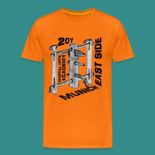 WT Holzpuppe - Orange - Männer Premium T-Shirt