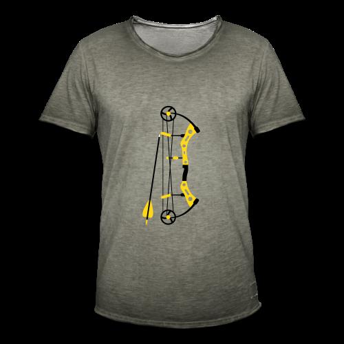 Compound Bogen - Männer Vintage T-Shirt