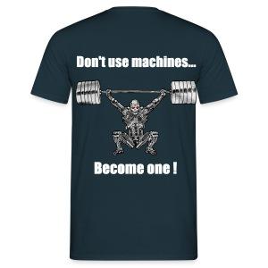 T-shirt Robot Dos Non Moulant - T-shirt Homme
