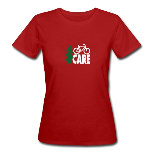 I CARE WMS Bike lightgreen/green/black - Frauen Bio-T-Shirt