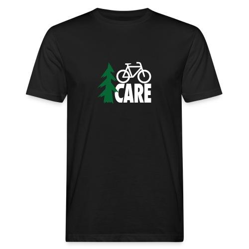 I CARE MEN Bike black/green/white - Männer Bio-T-Shirt