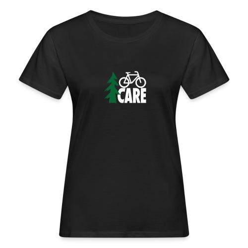 I CARE WMS Bike black/green/black - Frauen Bio-T-Shirt