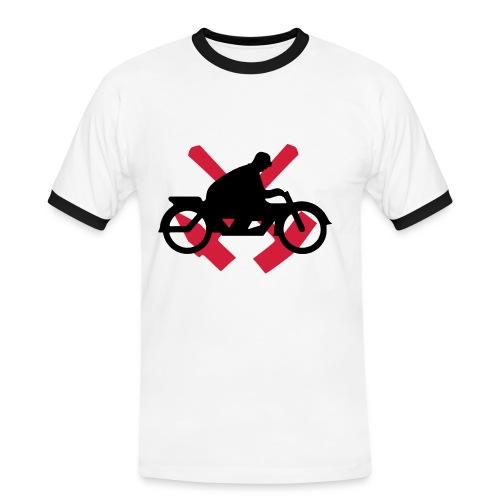 Motorrad Ruhrgebiet - Männer Kontrast-T-Shirt
