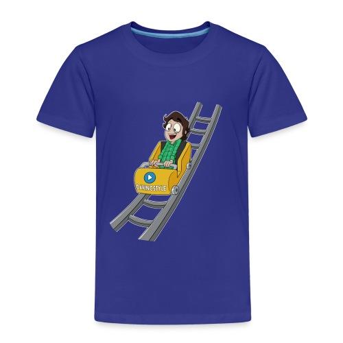 Vincent achtbaanrit - Shirt (KIDS 2 T/M 8JAAR) - Kinderen Premium T-shirt