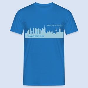 FRANKFURT MUSEUMSUFERFEST SOUVENIRS - Frankfurt Design #MUF - Männer T-Shirt