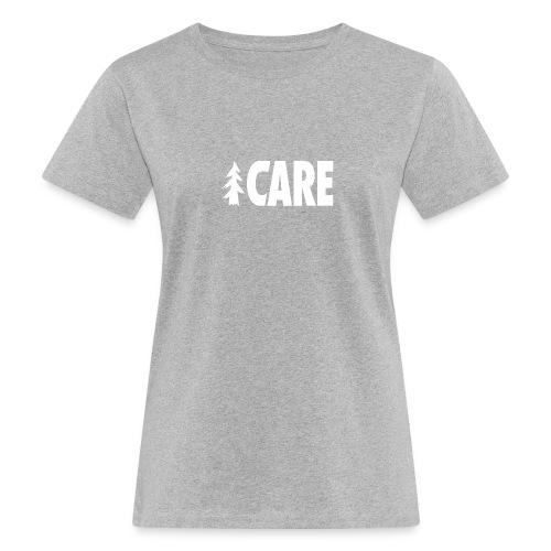 I CARE WMS Basic grey/all white - Frauen Bio-T-Shirt