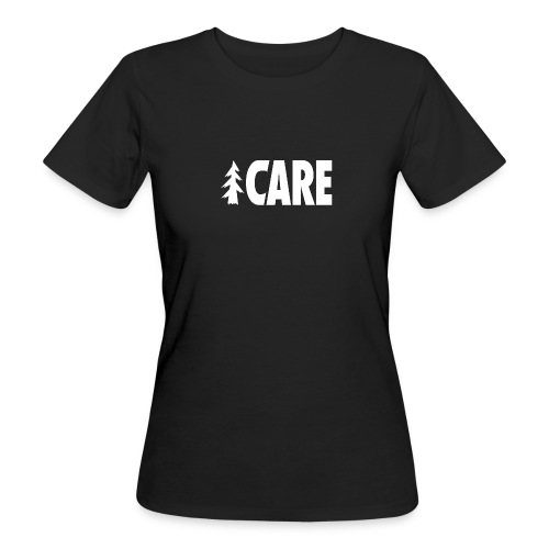 I CARE WMS Basic black/all white - Frauen Bio-T-Shirt
