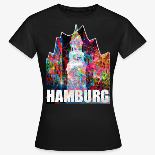 Elphi & Michel Hamburg Elbphilharmonie Frauen T-Shirt - Frauen T-Shirt