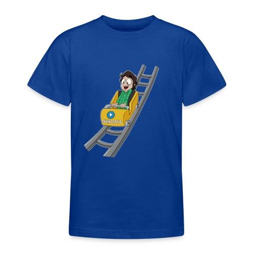 Vincent achtbaan - Shirt (PUBER 9 T/M 14 JAAR) - Teenager T-shirt