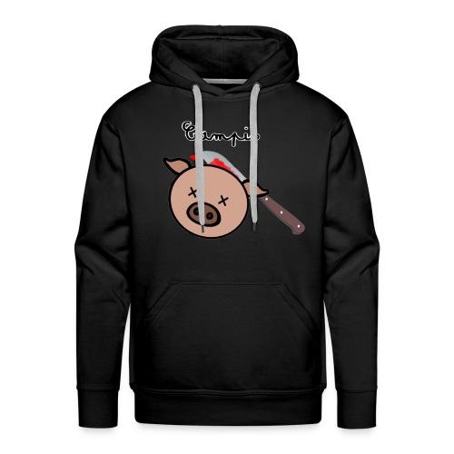Cochon - Sweat-shirt à capuche Premium pour hommes