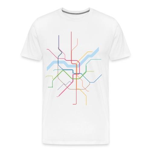 CGN SUBWAY - Männer Premium T-Shirt