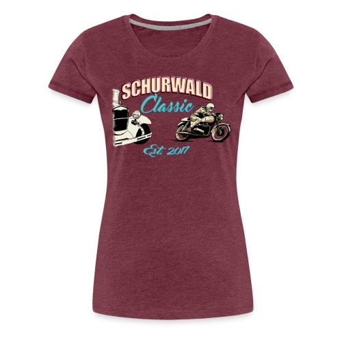 Schurwald Classic Damenshirt - Frauen Premium T-Shirt