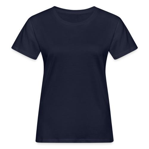 WMS, Small Back Logo, navy/all white - Frauen Bio-T-Shirt