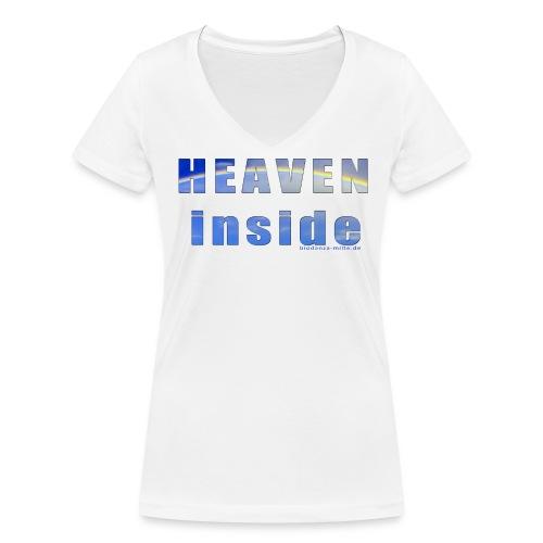 Biodanza Shirt Heaven Inside - Frauen Bio-T-Shirt mit V-Ausschnitt von Stanley & Stella