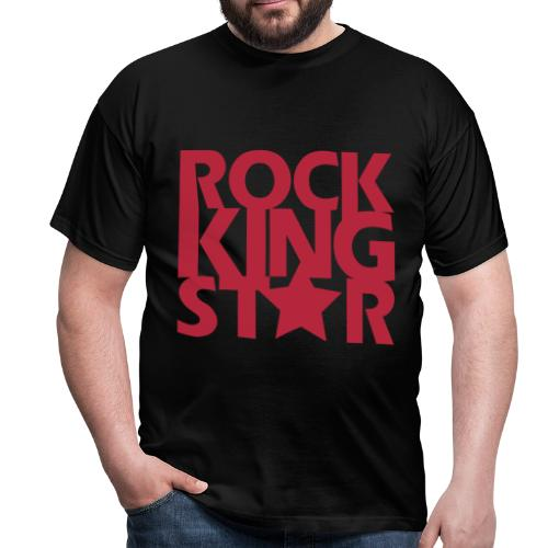 Rockking star - Mannen T-shirt