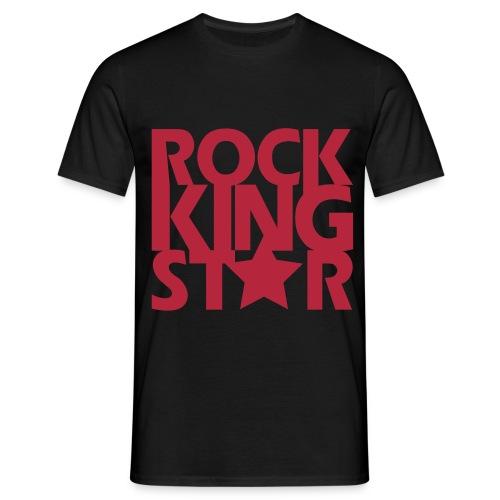 Rockking star - Mannen T-shirt
