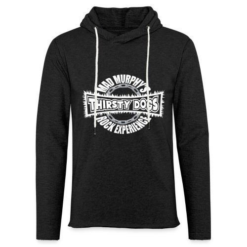 Mad Murphy's Thirsty Dogs - Official Logo - Leichtes Kapuzensweatshirt Unisex