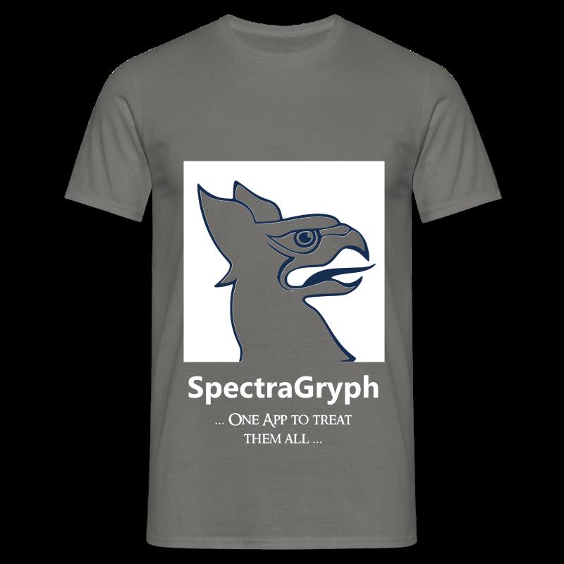Spectragryph_Spruch01a - Männer T-Shirt