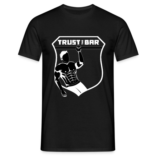 Trust The Bar - OAP (shield - black) [winter] - Men's T-Shirt