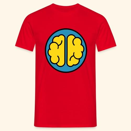oke brain - Mannen T-shirt