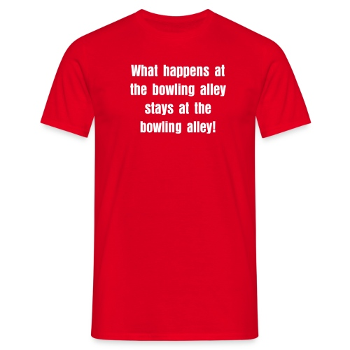What happens at - T-shirt herr