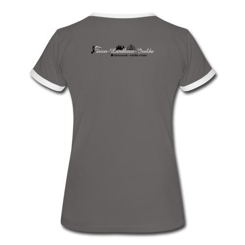 FLI T-Shirt - Frauen Kontrast-T-Shirt
