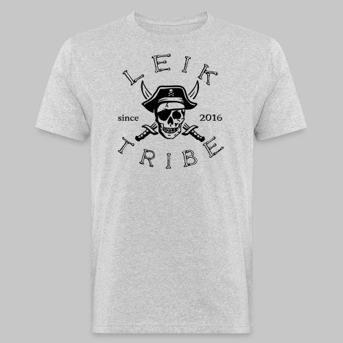 BIO Leik Tribe Pirat TShirt (m) grey - Männer Bio-T-Shirt