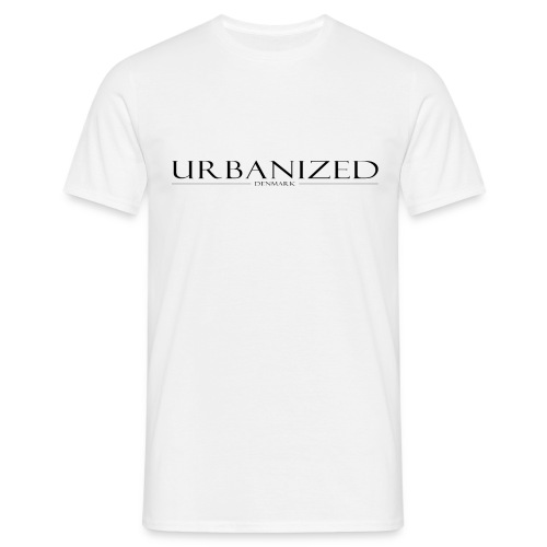 Urbanized white - Men's T-Shirt