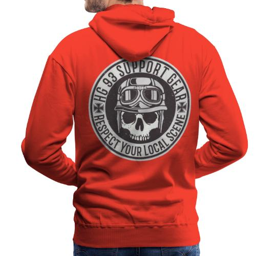 Respect Your Local Scene - Männer Premium Hoodie