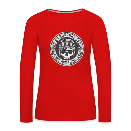 Respect Your Local Scene - Frauen Premium Langarmshirt