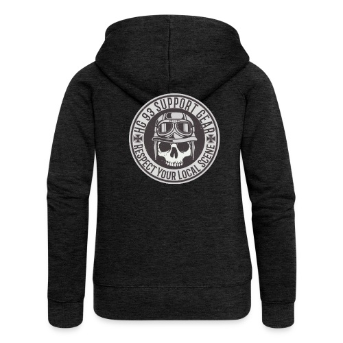Respect Your Local Scene - Frauen Premium Kapuzenjacke