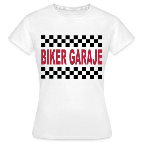 Cafe Racer Biker Garaje for Girls - Camiseta mujer