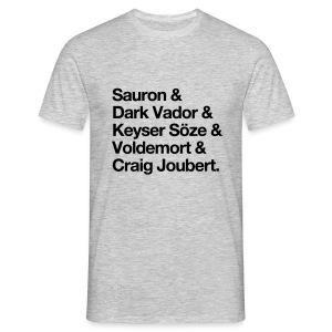 Le ticheurte des méchants (H) - T-shirt Homme
