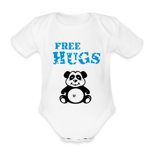 baby hugs - Organic Short-sleeved Baby Bodysuit