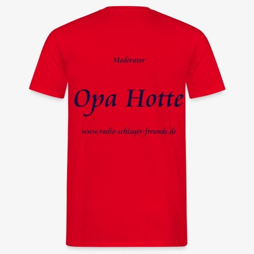 MOD - Shirt Opa Hotte - Männer T-Shirt